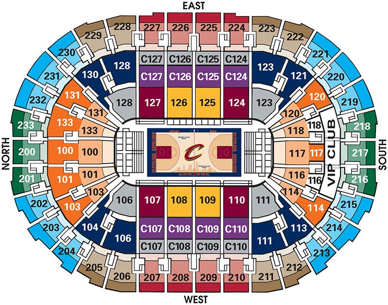 Cavaliers Vs San Antonio Spurs Quicken Loans Arena