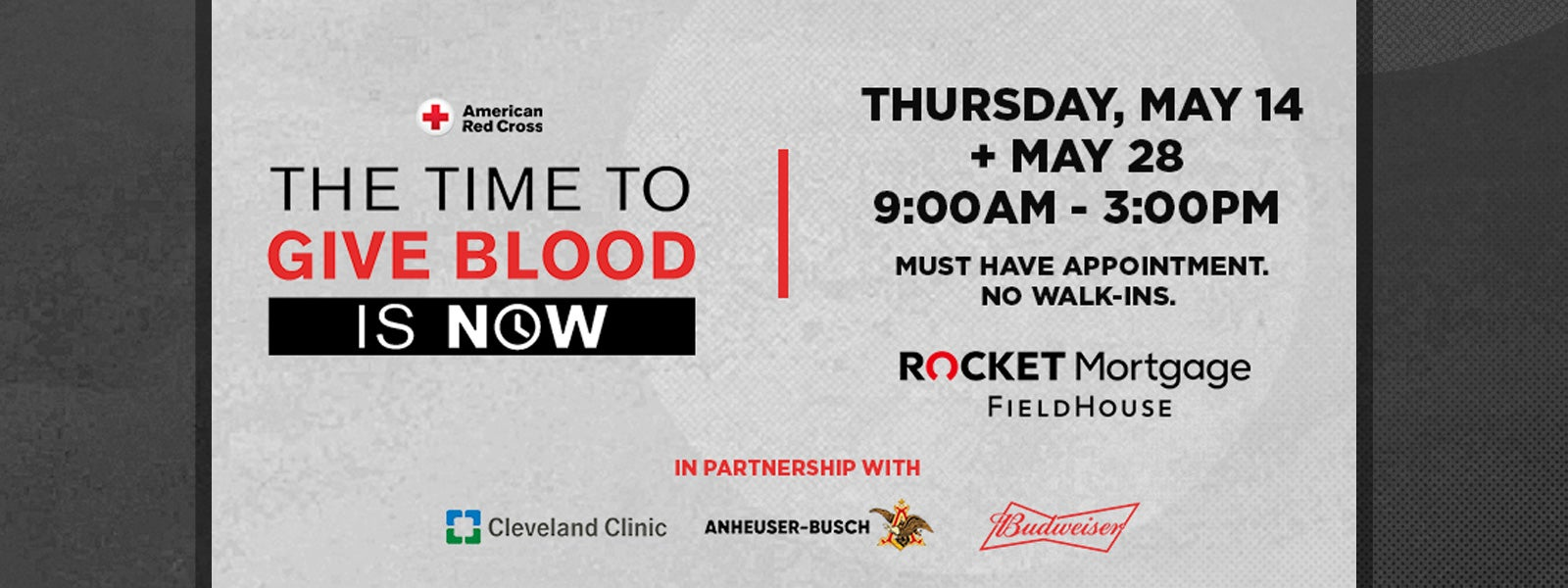 New Blood Drive Dates Added