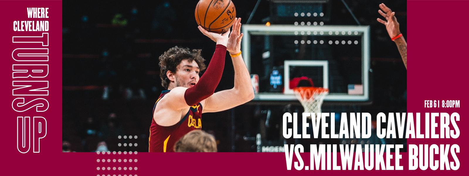 Cavaliers vs. Milwaukee Bucks