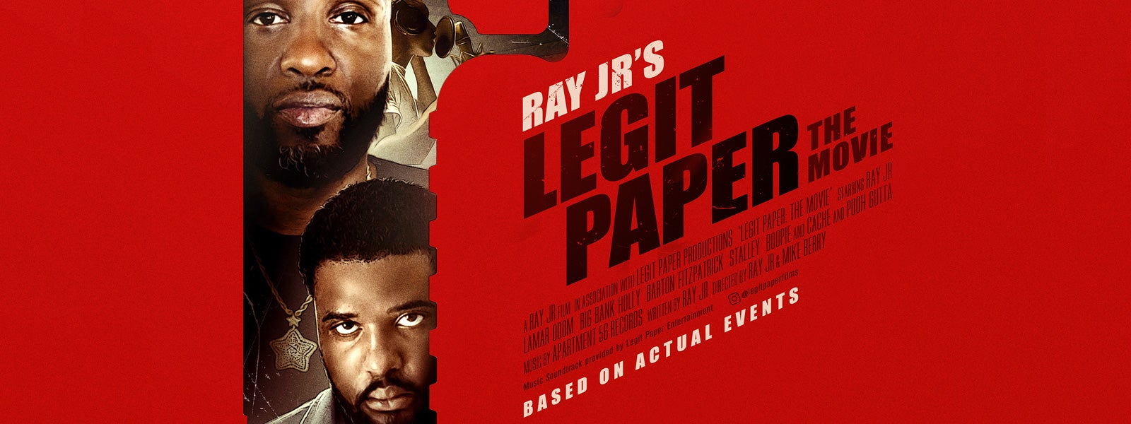 Ray Jr's Legit Paper - The Movie (Rated R)