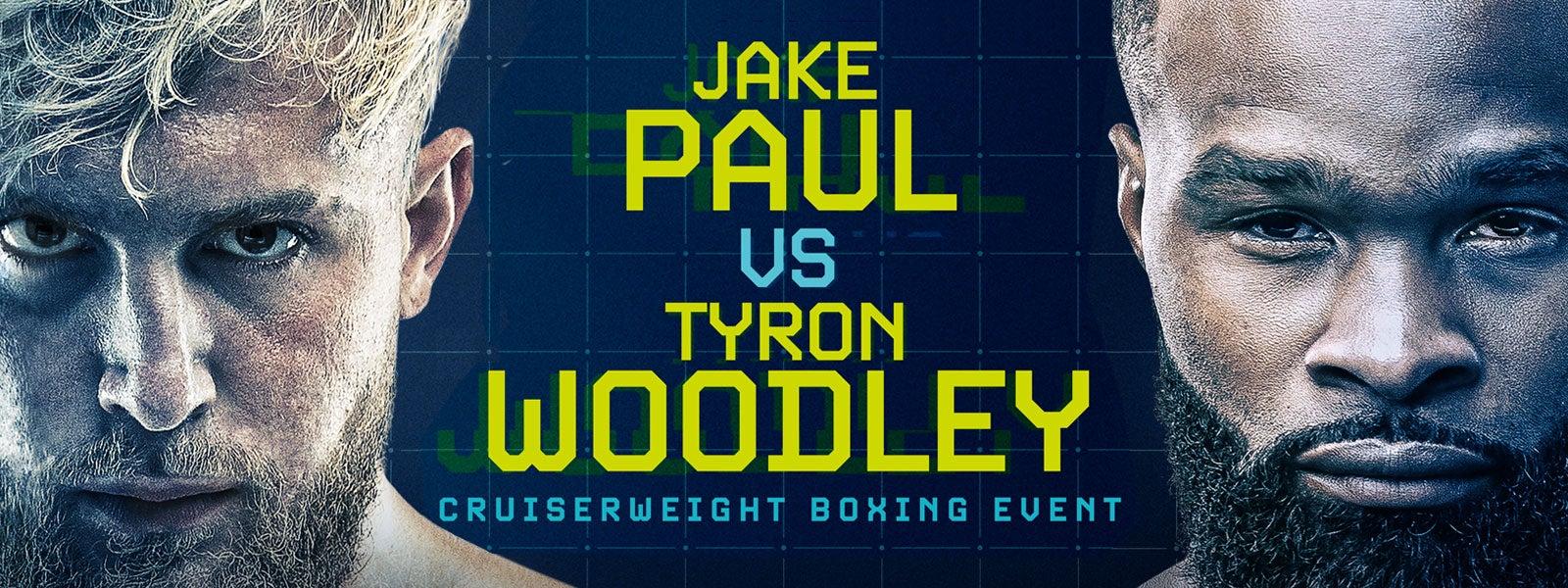 Jake Paul vs. Tyron Woodley