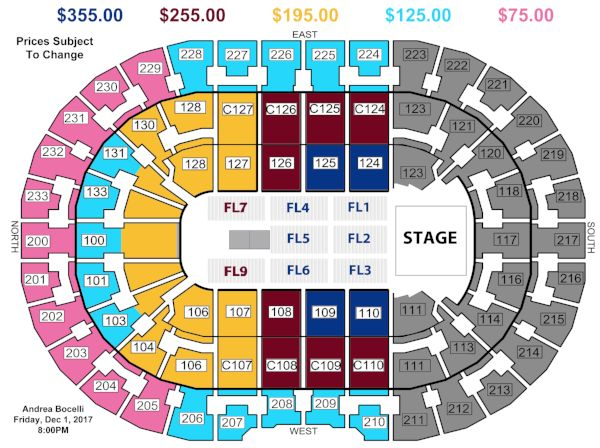 Cavs Seating Chart With Rows Brokeasshome Com