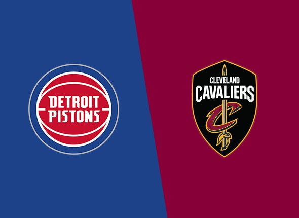 Cavaliers vs. Detroit Pistons