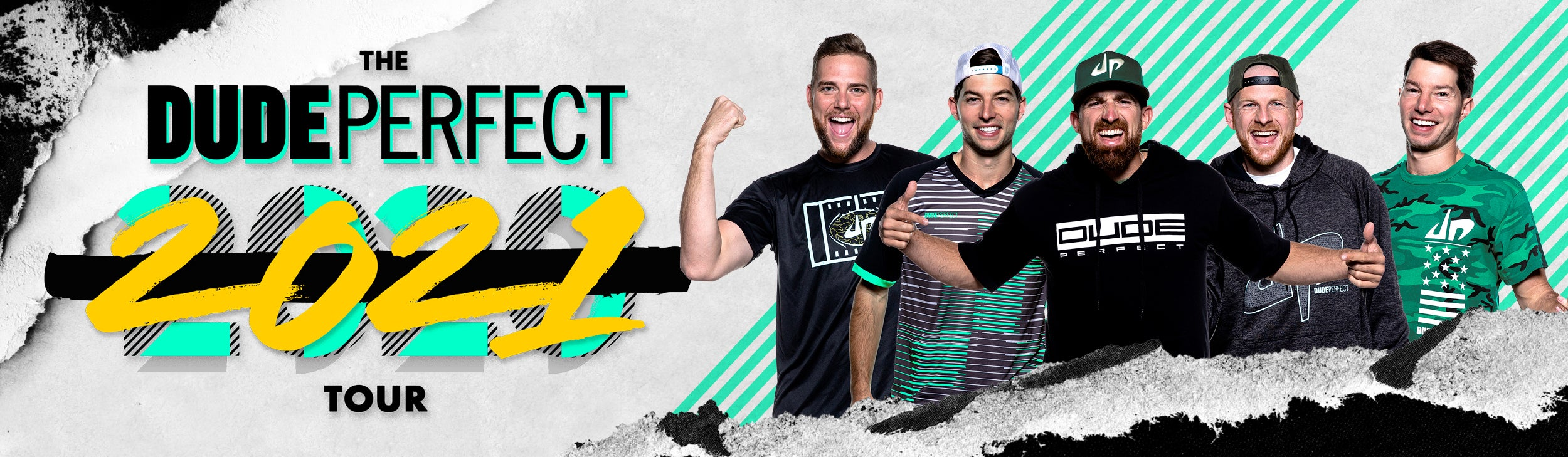 RESCHEDULED: The Dude Perfect 2021 Tour