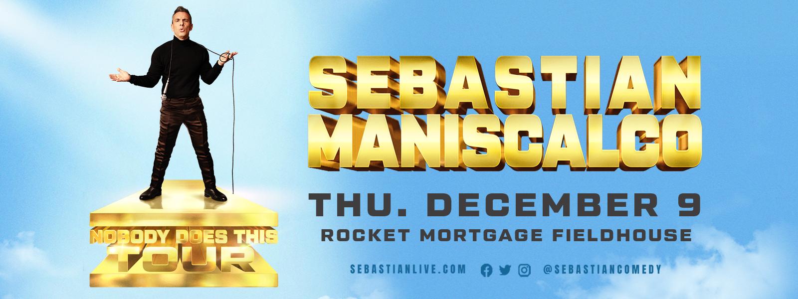 More Info for Sebastian Maniscalco: Nobody Does This Tour