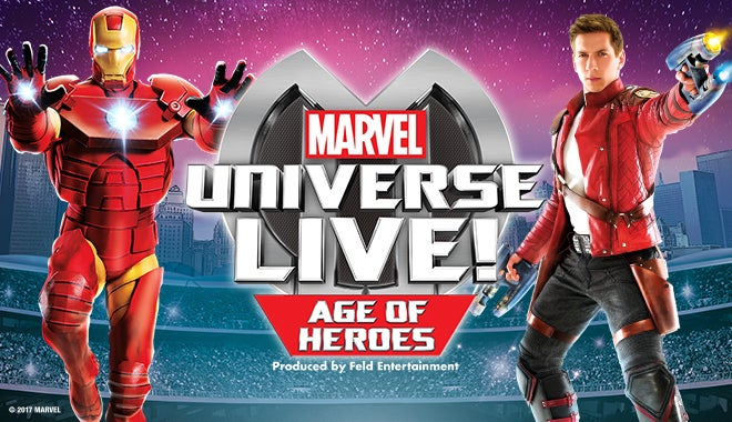 Marvel Universe Live Quicken Loans Arena Official Website