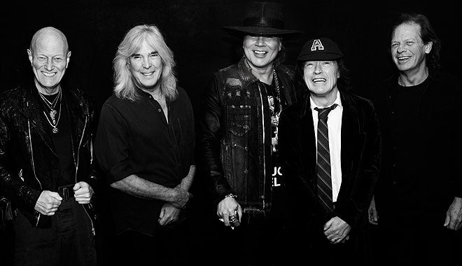 AC/DC 'Rock Or Bust' World Tour