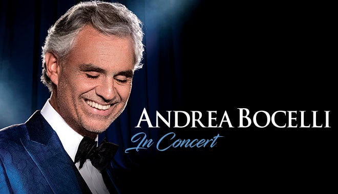 Andrea Bocelli | Quicken Loans Arena Official Website