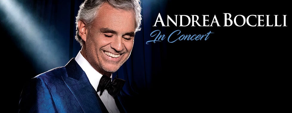 Andrea Bocelli | Quicken Loans Arena Official Website
