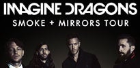 More Info for IMAGINE DRAGONS SET TO BRING THEIR ELECTRIFYING LIVE SHOW ON THE ROAD IN 2015 WITH THE SMOKE + MIRRORS TOUR