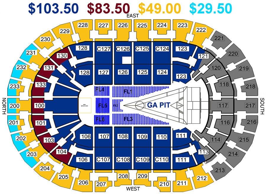 Prismatic World Tour Ticket Prices