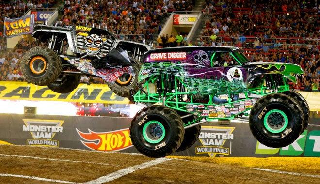 Toughest Monster Truck Tour Vs Monster Jam