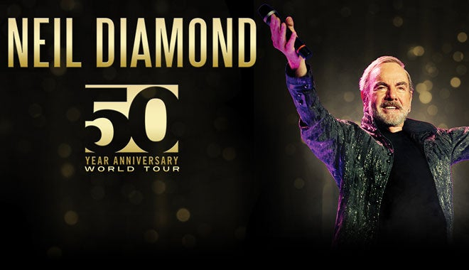 Neil Diamond The 50 Year Anniversary World Tour