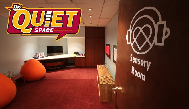 NEW Sensory Room at The Q