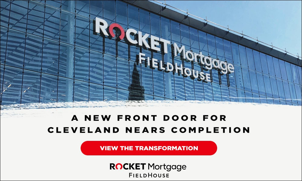 A New Front Door to Cleveland Nears Completion