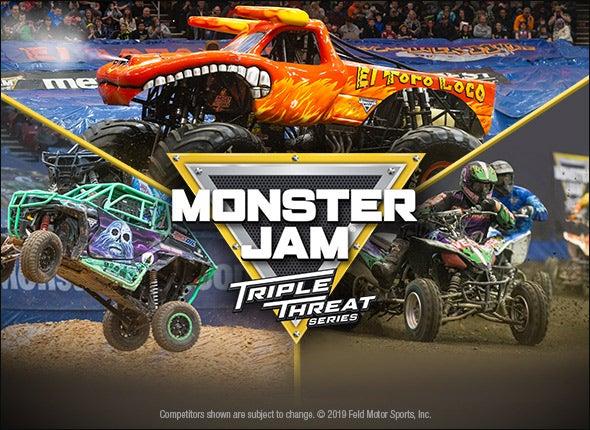 More Info for Monster Jam Triple Threat Series