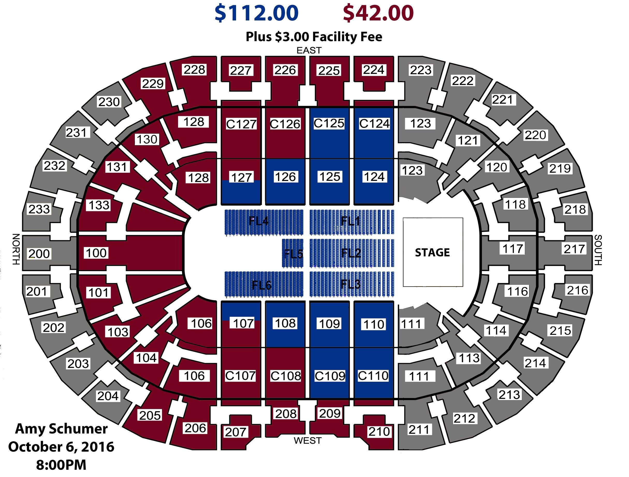 Amy Schumer LIVE | Quicken Loans Arena Official Website