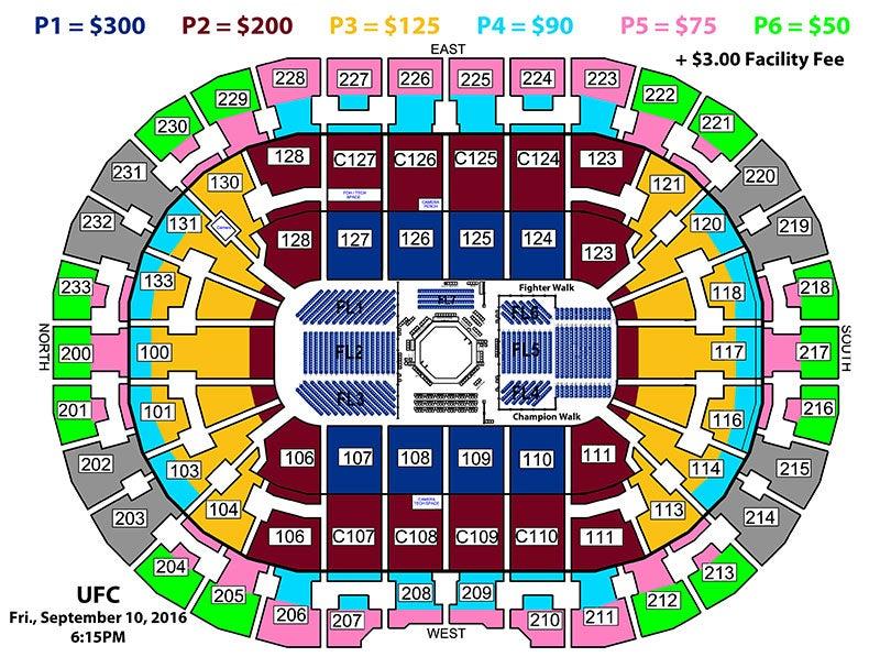 UFC 203 | Quicken Loans Arena Official Website