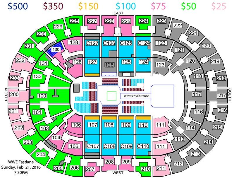 WWE Fastlane | Quicken Loans Arena Official Website